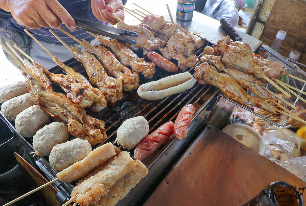 台南烤雞腿|億載雞腿王(億載金城炭烤黑輪伯) @緹雅瑪 美食旅遊趣