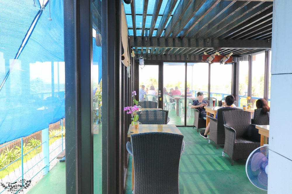 宜蘭海景咖啡》灆咖啡,眺望龜山島沙灘美景水藍咖啡廳 @緹雅瑪 美食旅遊趣