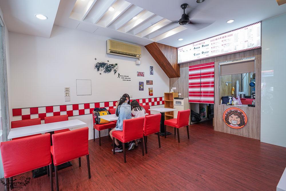 台南美式漢堡.台南好吃炸雞:趣肯MaMa速食店,下午茶鹹點首選!! @緹雅瑪 美食旅遊趣