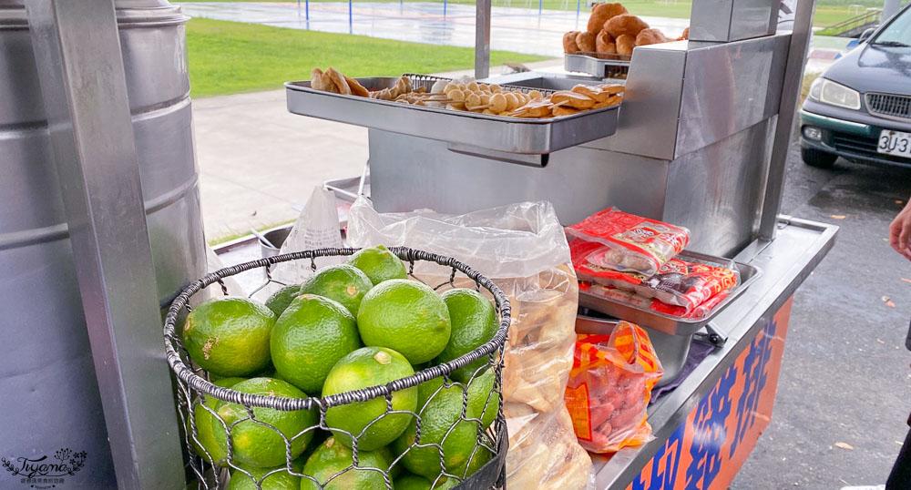 宜蘭10元炸雞肉串》河濱台式漢堡,宜蘭河濱公園旁小吃攤!! @緹雅瑪 美食旅遊趣