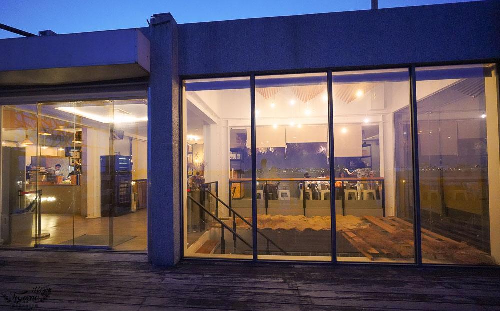 澎湖海景咖啡廳,吹吹風精品咖啡館,欣賞碼頭海景夜景、喝咖啡 @緹雅瑪 美食旅遊趣