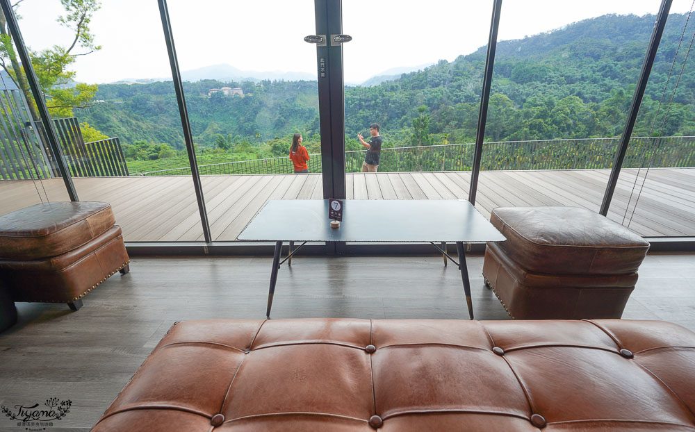 南投景點絕美咖啡莊園,鹿篙咖啡莊園,山間裡的獨棟景觀咖啡廳!! @緹雅瑪 美食旅遊趣