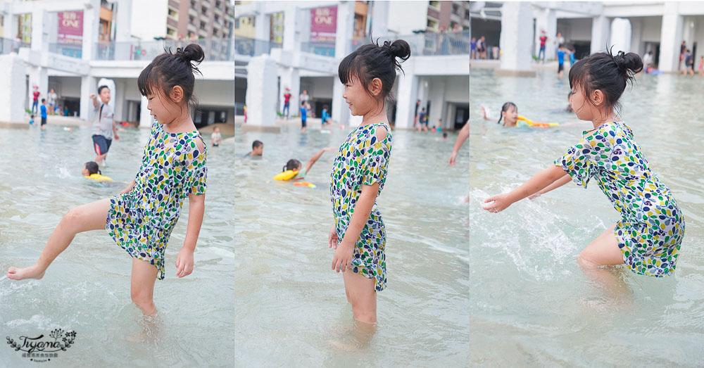 台南免費玩水景點》河樂廣場,台南市區最大親水潟湖戲水空間 @緹雅瑪 美食旅遊趣
