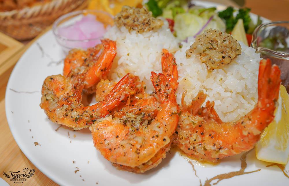 丸飯食事處:沖繩蝦蝦飯台南也吃得到!!200元左右平價網美餐廳|台南偽出國美食|台南蝦蝦飯 @緹雅瑪 美食旅遊趣