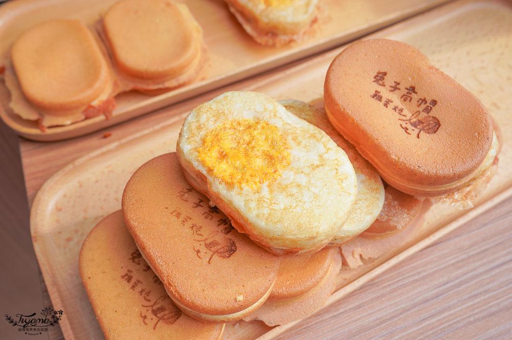 台南雞蛋糕》兔子高帽 雞蛋燒,嚴選潮心蛋的起司雞蛋燒,十種基本口味+每月限定新口味,滿足你的味蕾 @緹雅瑪 美食旅遊趣