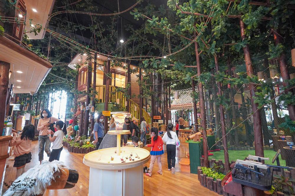 木育森林高雄駁二/Wooderful life 駁二店,7大體驗區,超過50種木製設施,適合各年齡的木製室內遊樂園 @緹雅瑪 美食旅遊趣