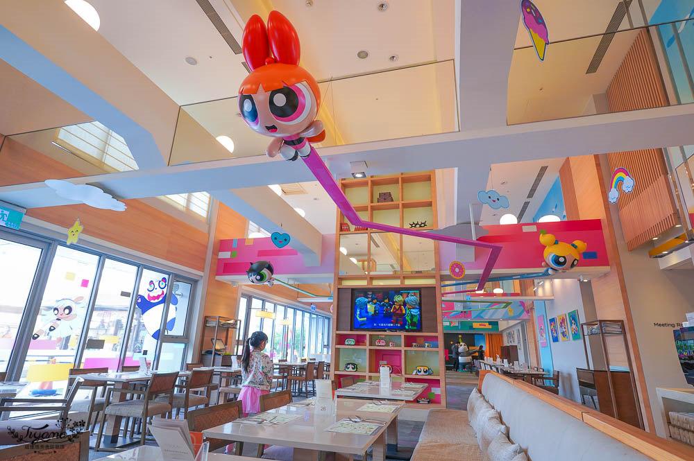 台南親子餐廳|下午茶+戶外遊戲區,和逸飯店台南西門館,期間限定卡通主題 猴賽雷雙人午茶套餐只要699元 @緹雅瑪 美食旅遊趣