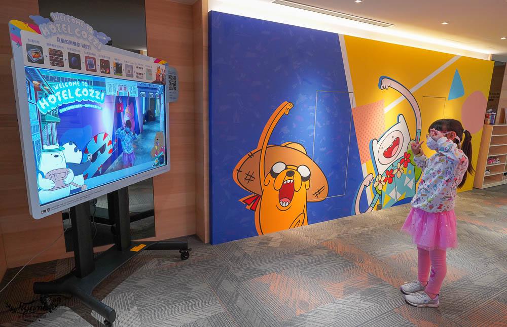 台南親子飯店》和逸飯店 台南西門館,飛天小女警卡通主題房,戶外&室內遊戲場玩不停!卡通午茶套餐方案開跑中 @緹雅瑪 美食旅遊趣