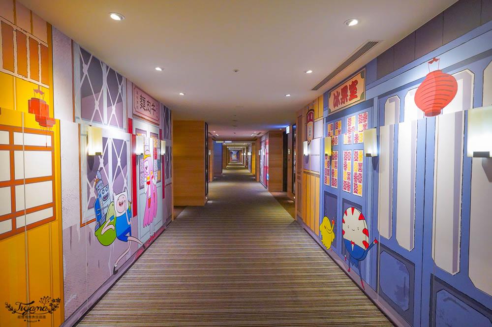 台南親子飯店》和逸飯店 台南西門館,飛天小女警卡通主題房,戶外&室內遊戲場玩不停! @緹雅瑪 美食旅遊趣