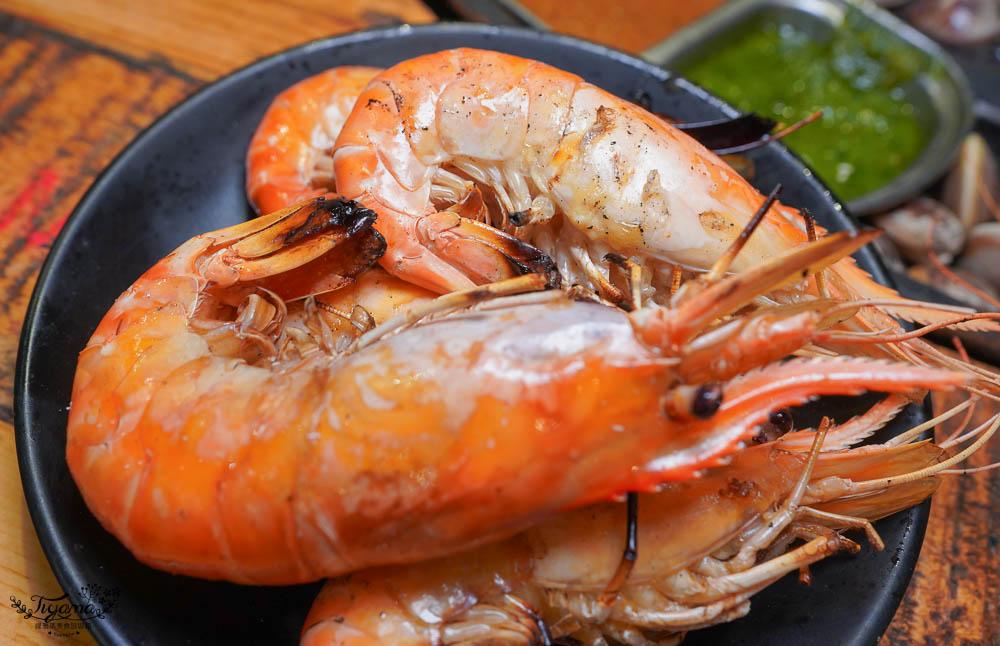 台南波士頓龍蝦吃到飽,就是狂!!scream 尖叫精緻炭火燒肉,泰國水道蝦人氣名店,吃過都說讚~ @緹雅瑪 美食旅遊趣