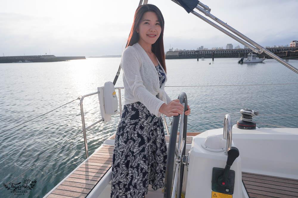 澎湖帆船浪漫夕陽晚餐》夢想航海澎湖帆船,藝人也來玩!!浪漫求婚、閨蜜慶生、感情升溫必備行程 @緹雅瑪 美食旅遊趣