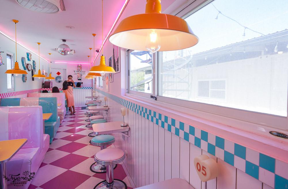 南風微甜,屏東墾丁甜點店,美式粉紅貨櫃超好拍,網美打卡冰品 @緹雅瑪 美食旅遊趣