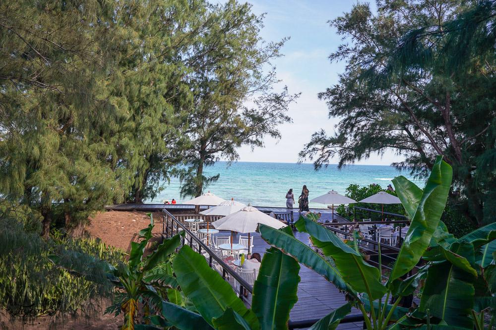 澎湖景觀咖啡廳|及林春咖啡館,超美海灘盡收眼底 @緹雅瑪 美食旅遊趣