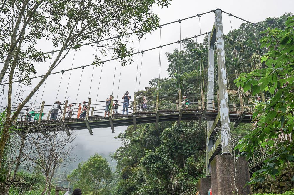 雲林古坑》華山溪吊橋、華山小天梯、情人橋,爬山健行好去處!! @緹雅瑪 美食旅遊趣