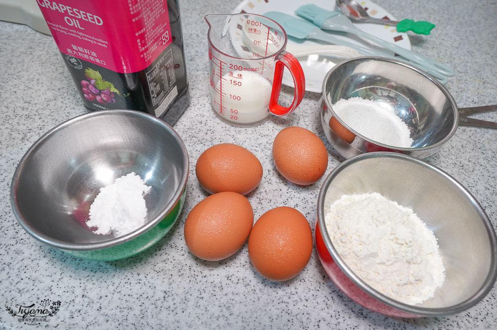 舒芙蕾鬆餅作法,簡單就能上手的舒芙蕾配方,煎才是最重要的環節!! @緹雅瑪 美食旅遊趣