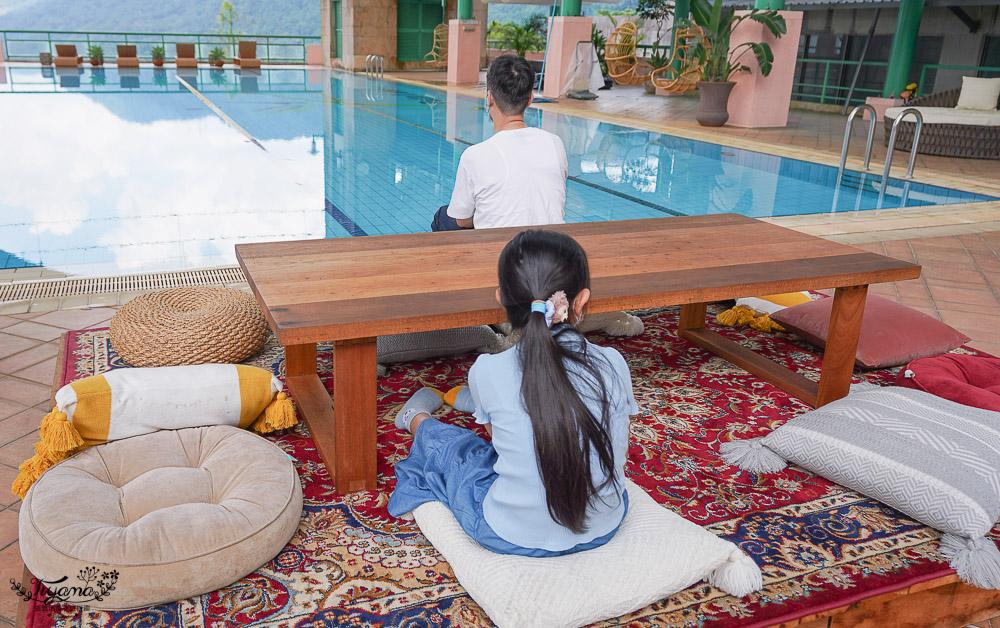 石門水庫福華渡假飯店 一泊二食專案|豪華家庭房,絕美峇里島泳池、全新網美餐廳、豐富好新遊戲設施,全家假度玩不停! @緹雅瑪 美食旅遊趣