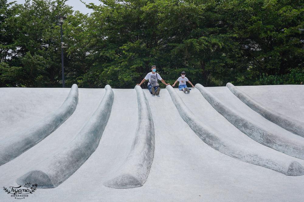 貓裏喵親子公園》可愛八爪章魚出沒!!8條彎度滑道、石砌滑坡道、大沙坑~ @緹雅瑪 美食旅遊趣