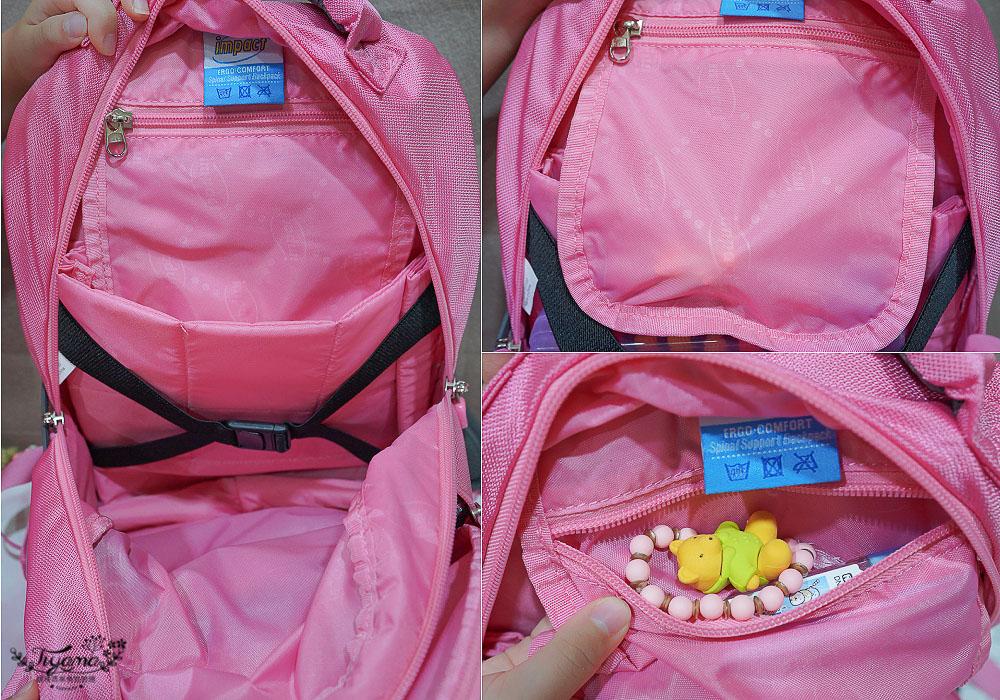 怡寶書包》HELLO KITTY成長型護脊書包,超可愛、好輕盈、透氣不悶熱,多隔層收納~ @緹雅瑪 美食旅遊趣