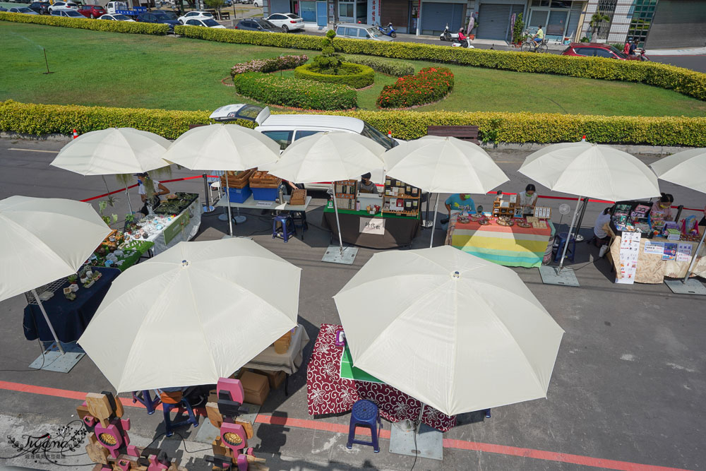 彰化鹿港新景點《和興青創基地》好拍好逛的文創聚落|和興好Way市集|假日市集|鹿港必遊景點。 @緹雅瑪 美食旅遊趣