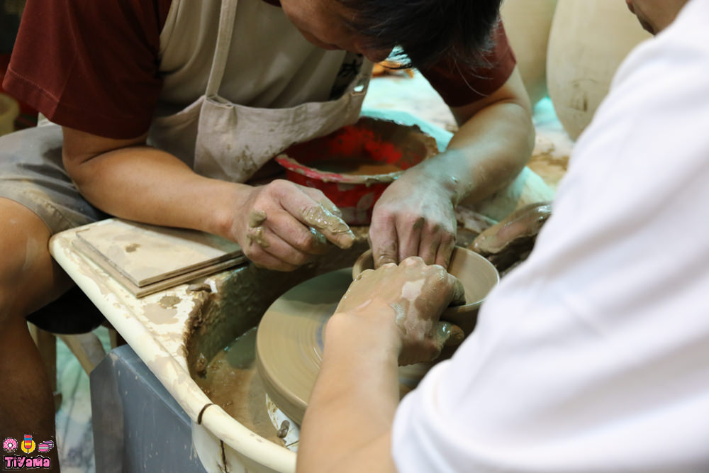 府城陶坊|手拉坯DIY:玩樂台南「孔廟魅力商圈」體驗玩陶的魅力 @緹雅瑪 美食旅遊趣