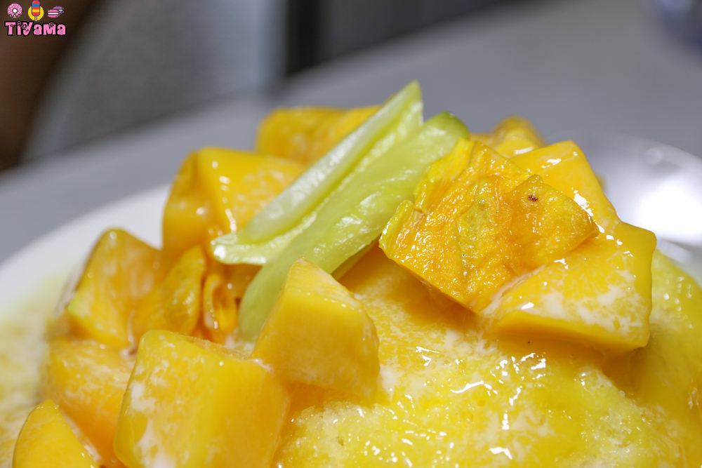 台南冰品|莉莉水果店.人氣排隊名店:夏天來台南就是要來碗「芒果銼冰」 @緹雅瑪 美食旅遊趣