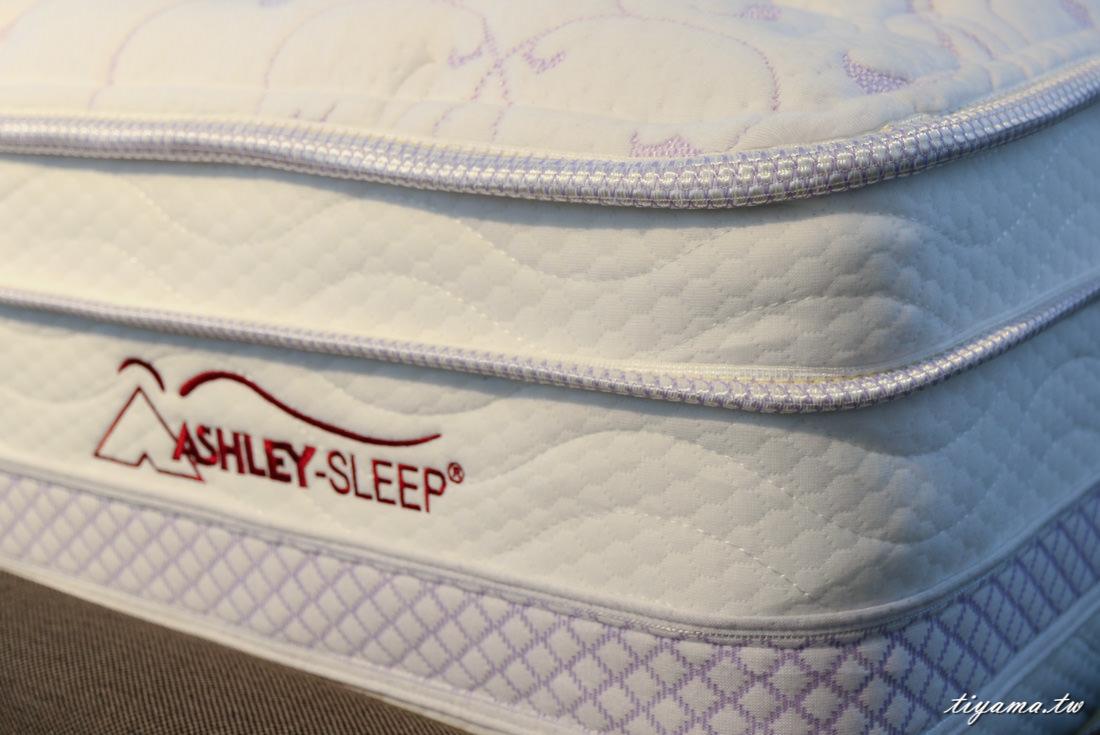 Ashley愛室麗|美式家居|台南獨立筒床墊:選擇適合自己的獨立筒床墊|床墊試躺 @緹雅瑪 美食旅遊趣