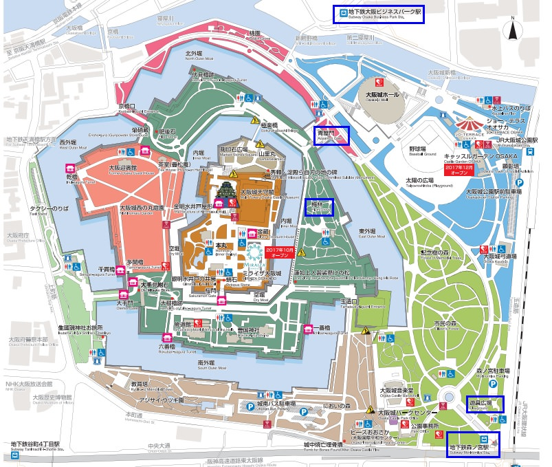 大阪城 梅林 &大阪城遊具広場:梅林賞梅去 @緹雅瑪 美食旅遊趣