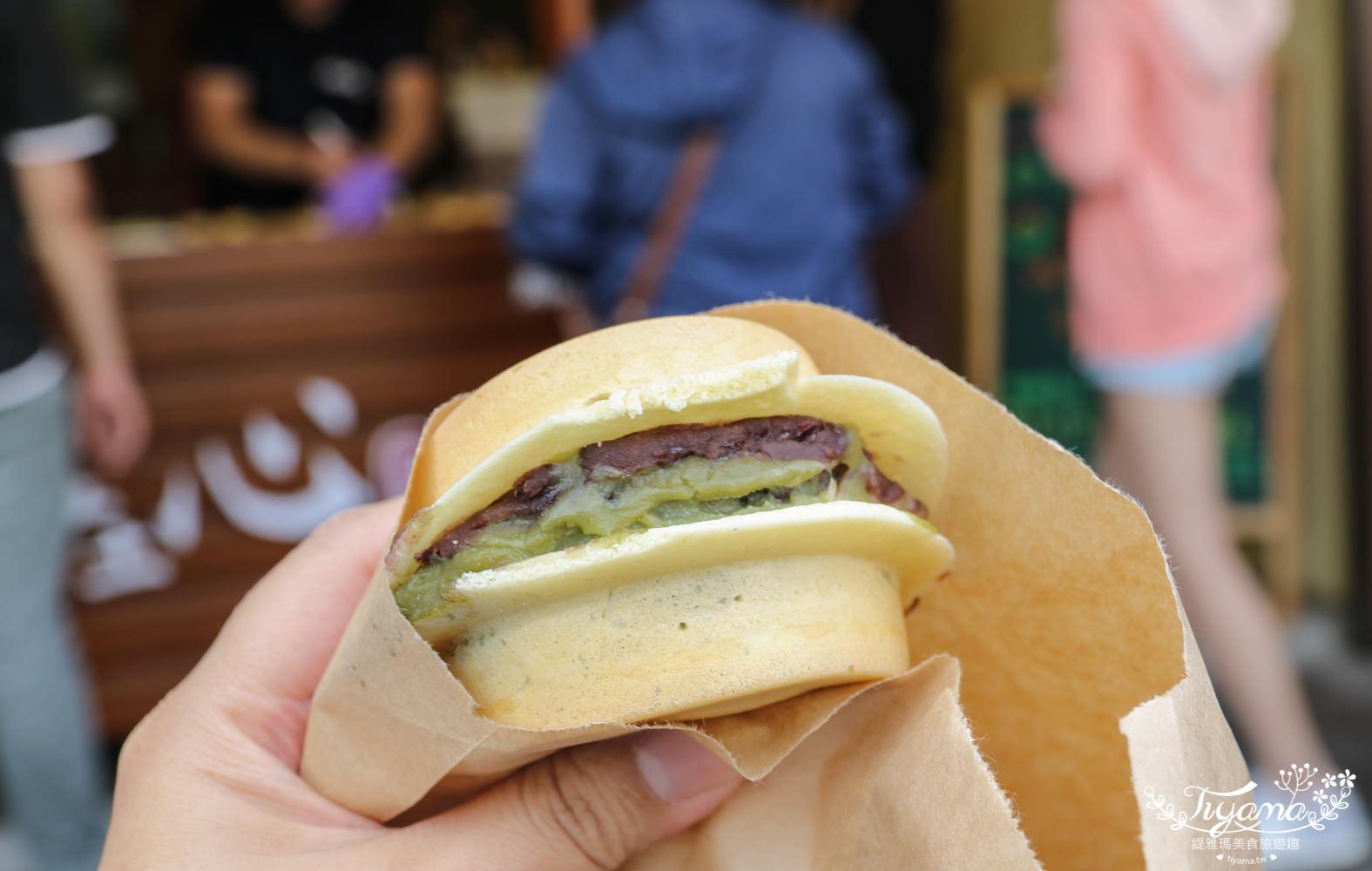 台南紅豆餅推薦|甜在心紅豆餅-中華店:「雙餡料」平價爆漿紅豆餅,1顆15元 、2顆25元 @緹雅瑪 美食旅遊趣