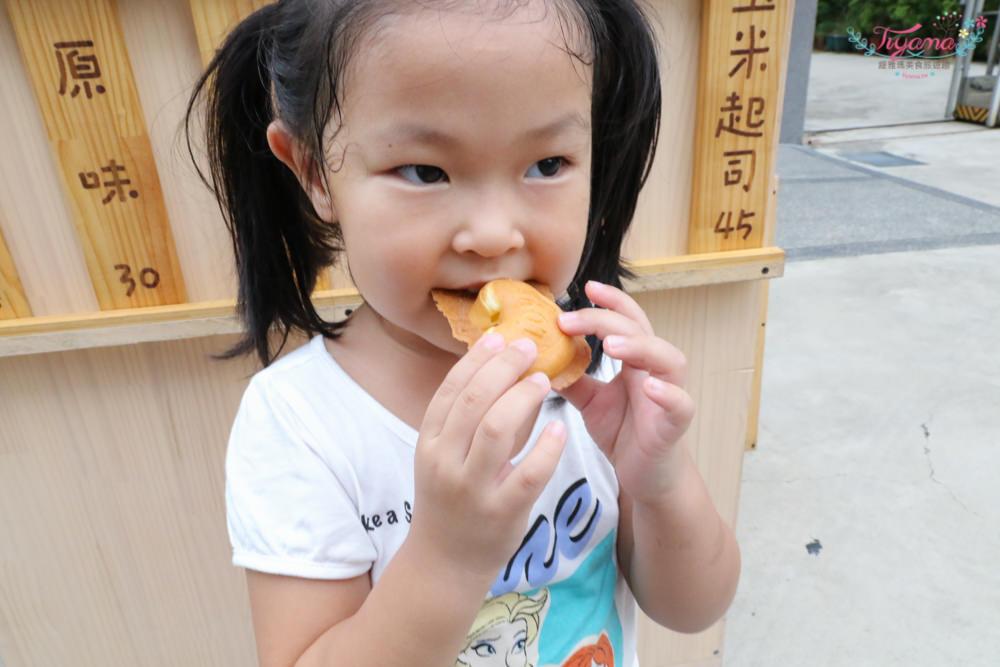 【台南雞蛋糕推薦】What's花吃手作雞蛋糕:日式風格攤位,美味包餡雞蛋糕 @緹雅瑪 美食旅遊趣