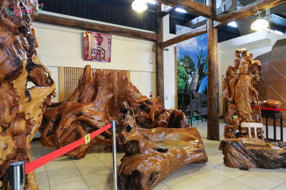 嘉義景點推薦|希諾奇台灣檜木博物館:鄒族愛情公仔&蛋彩繪DIY,親子檜木文創巡禮 @緹雅瑪 美食旅遊趣