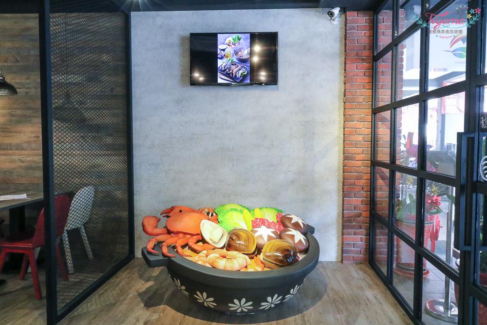 High鍋 台南火鍋:隱藏版活海鮮火鍋,好拍好吃就在嗨鍋 台南麻辣鍋 台南海鮮鍋 台南牛奶鍋 @緹雅瑪 美食旅遊趣