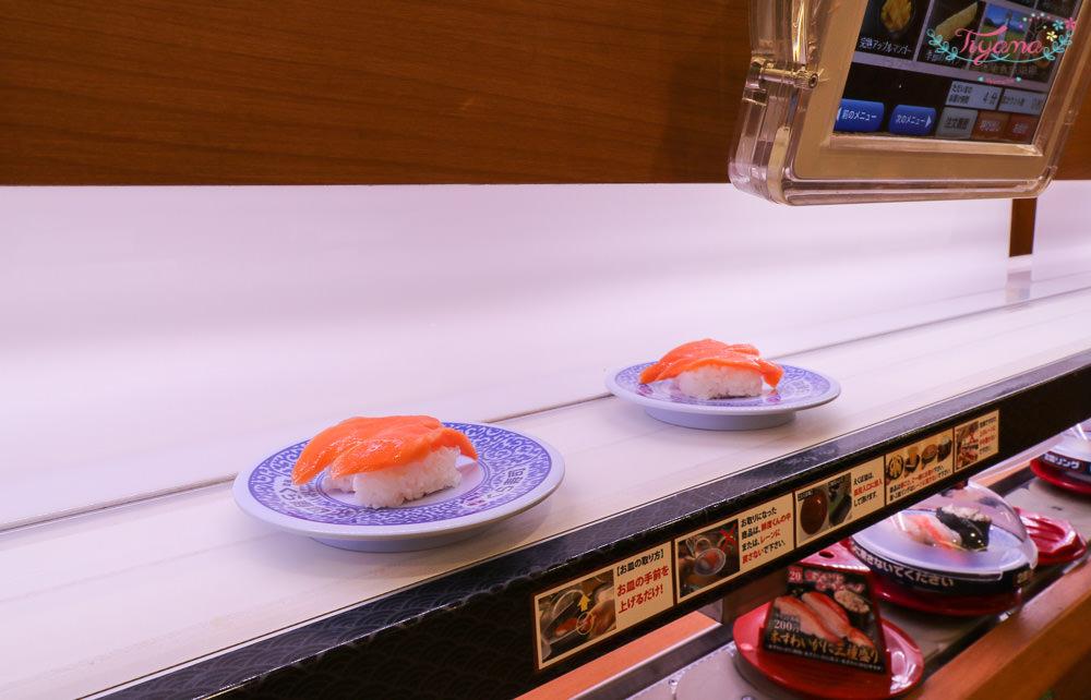 大阪壽司|無添くら寿司 天六駅前店:海膽、長腳蟹腳、天使蝦握,通通吃要100日元,大腹鮪魚肚200日元就吃得到 @緹雅瑪 美食旅遊趣