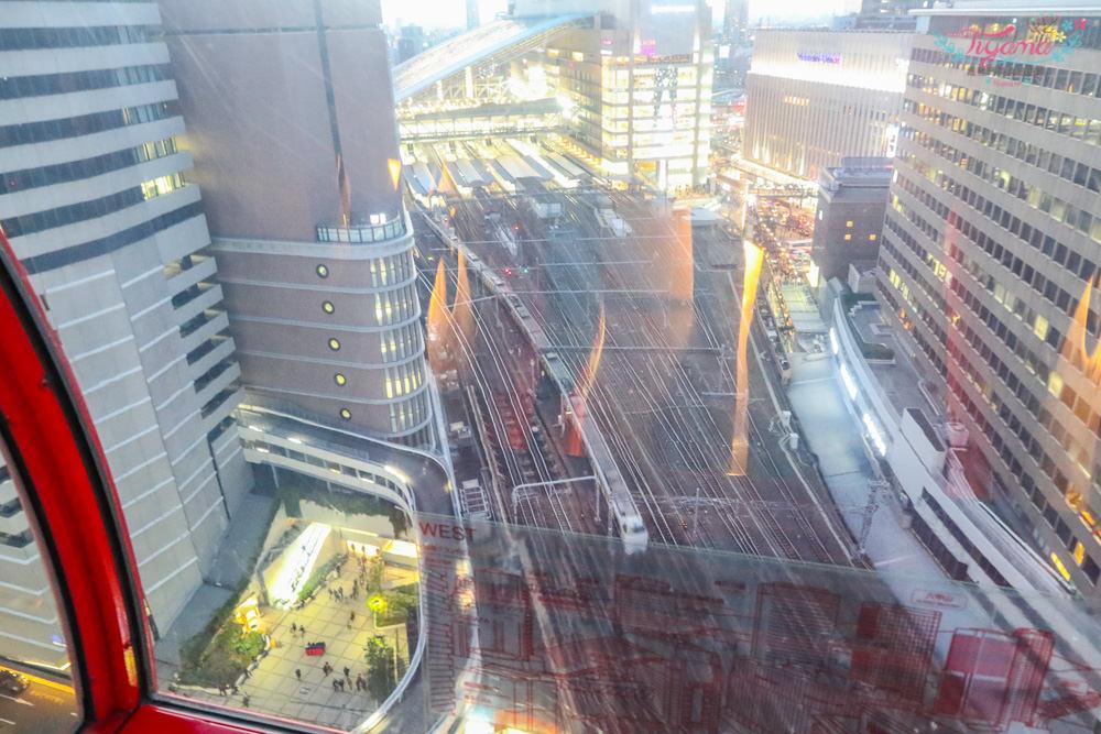 大阪周遊卡景點 HEP FIVE摩天輪&梅田JOY POLIS Wild River:7樓+9樓,2個設施一次搞定! @緹雅瑪 美食旅遊趣