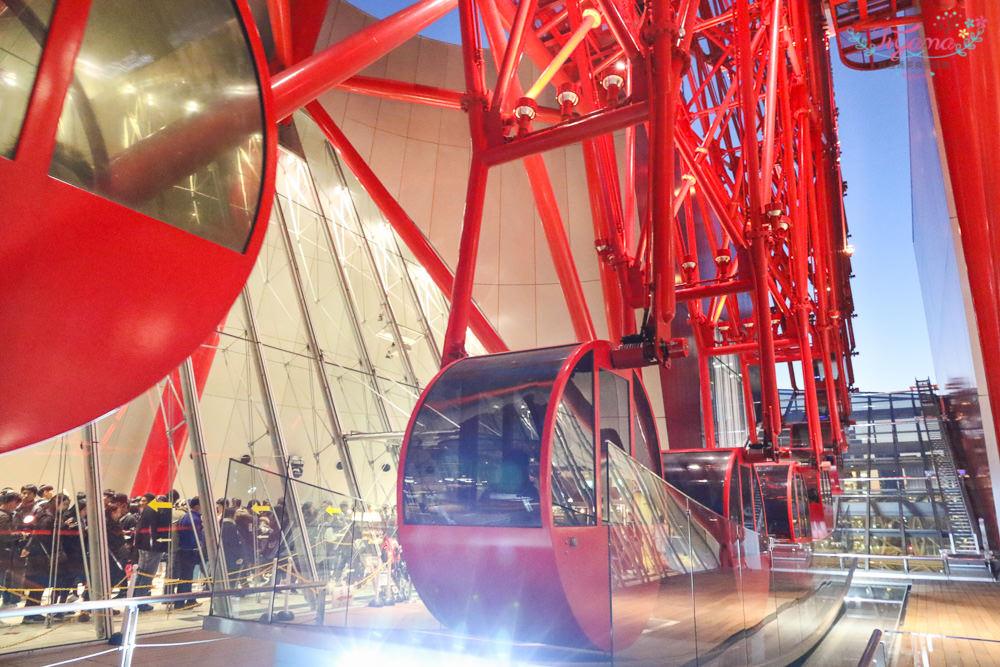 大阪周遊卡景點|HEP FIVE摩天輪&梅田JOY POLIS Wild River:7樓+9樓,2個設施一次搞定! @緹雅瑪 美食旅遊趣