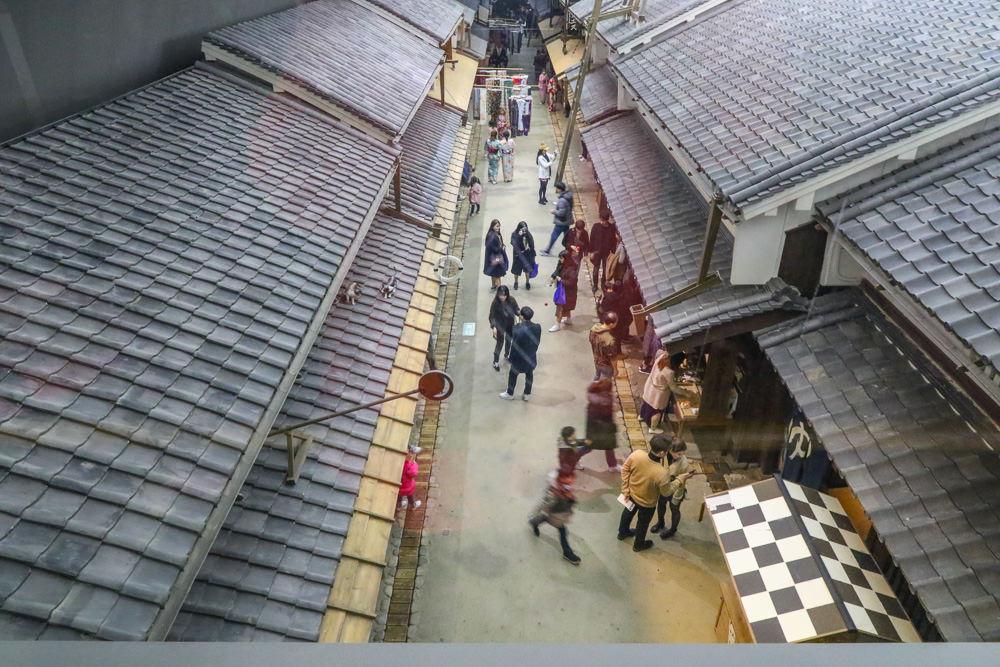 大阪周遊卡景點|大阪生活今昔館:江戶時代後期的大阪街市風光「大阪くらしの今昔館」 @緹雅瑪 美食旅遊趣