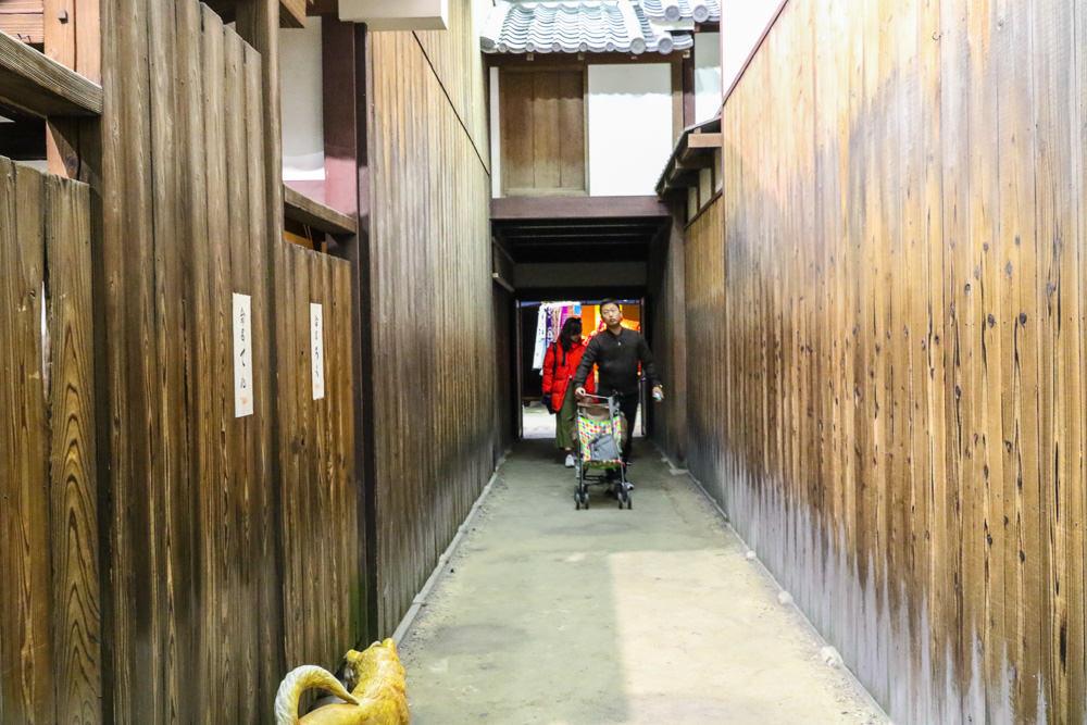 大阪周遊卡景點 大阪生活今昔館:江戶時代後期的大阪街市風光「大阪くらしの今昔館」 @緹雅瑪 美食旅遊趣