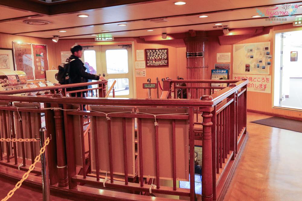 大阪周遊卡景點|帆船型觀光船 聖瑪麗亞號:60分鐘,飽覽大阪港海景的觀光船體驗 @緹雅瑪 美食旅遊趣