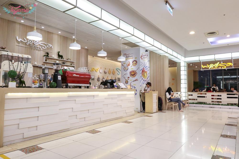 woosaパンケーキ 屋莎鬆餅屋|高雄大遠百店:入口即化般的雪花鬆餅&繽紛雪朵優格 @緹雅瑪 美食旅遊趣