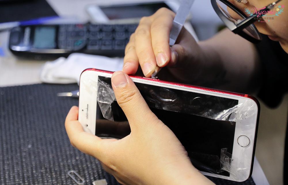 高雄手機包膜維修|Ideology Iphone現場維修包膜 KAMY建興店:全透明全滿膠玻璃保護貼&包膜,觸控佳.不易留指紋.不入塵 @緹雅瑪 美食旅遊趣