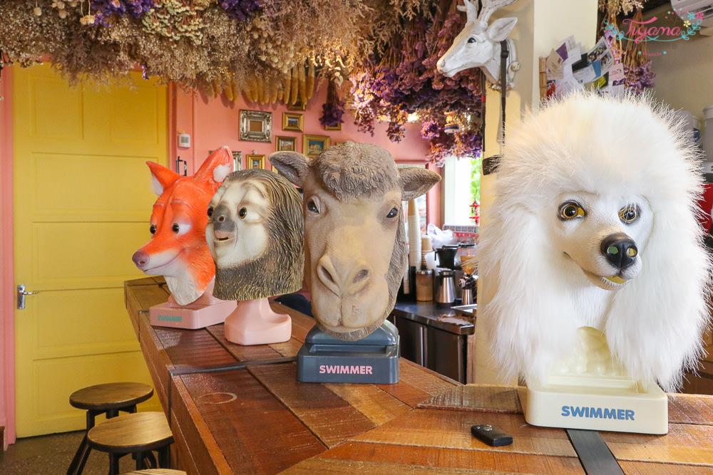 艸水木堂|審計新村美食:旋轉松鼠&兔兔概念的三明治專賣店 @緹雅瑪 美食旅遊趣