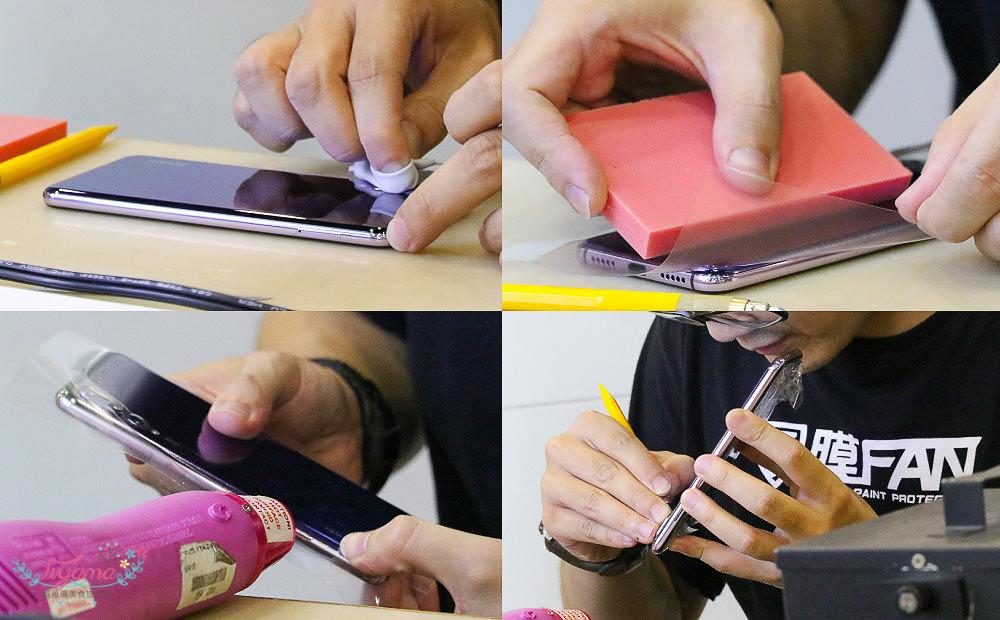 台南手機包膜只要$390, 鋼化玻璃貼$59貼到好~膜FAN通訊/3c包膜/手機維修.更換電池,2.5D&4D全膠式滿版玻璃貼 @緹雅瑪 美食旅遊趣