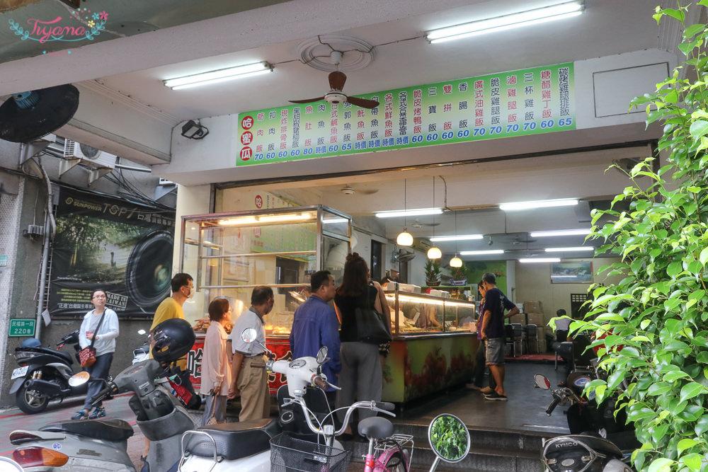 台南好吃便當|哈蜜瓜快餐便當:超推薦魚便當,部份時價…買前記得問價格 @緹雅瑪 美食旅遊趣