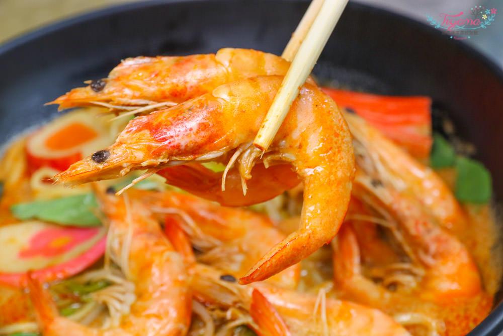 小福袋著走美食|新加坡風味爆多蝦~鮮蝦叻沙麵,平價好味道 @緹雅瑪 美食旅遊趣