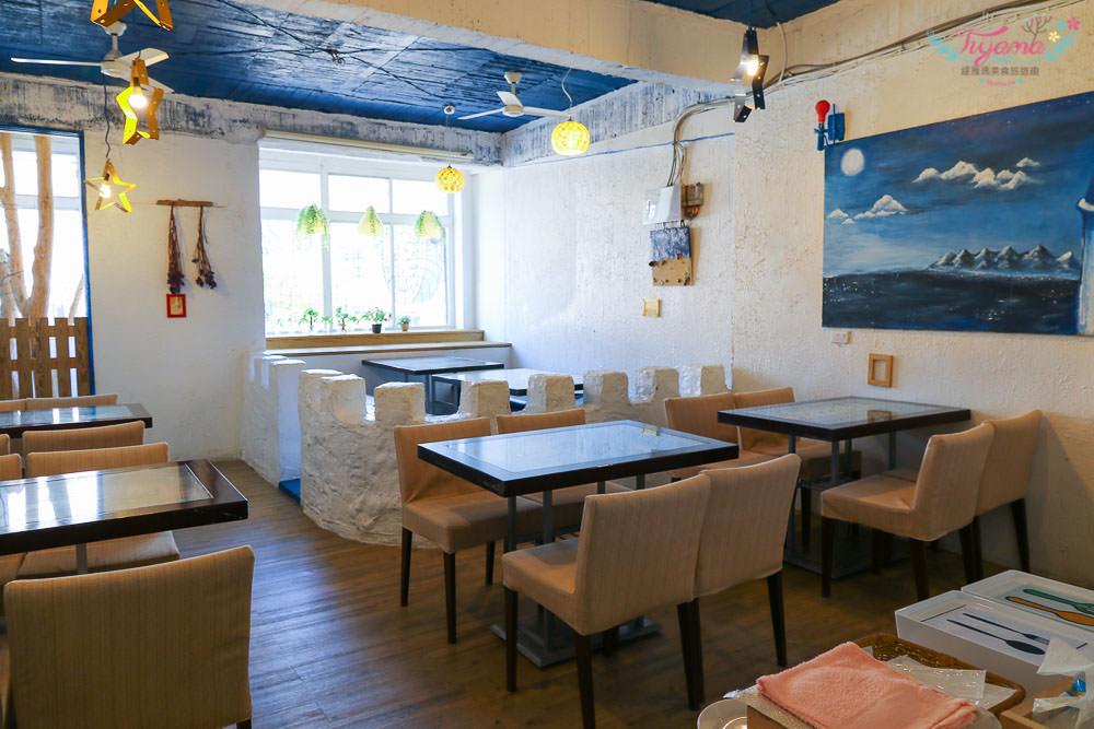 台南平價義大利麵|伊甸風味館:希臘地中海風情餐廳,料多味美~近好市多 @緹雅瑪 美食旅遊趣