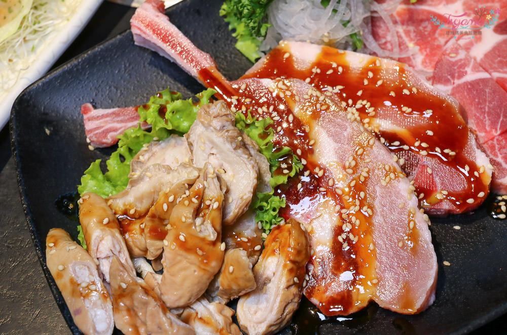 嘉義燒肉吃到飽|色鼎燒肉 嘉義店:燒肉.鍋物.生魚片.握壽司.日式料理.哈根達斯…任你吃~ 點好~點滿~一整桌超澎湃的 @緹雅瑪 美食旅遊趣