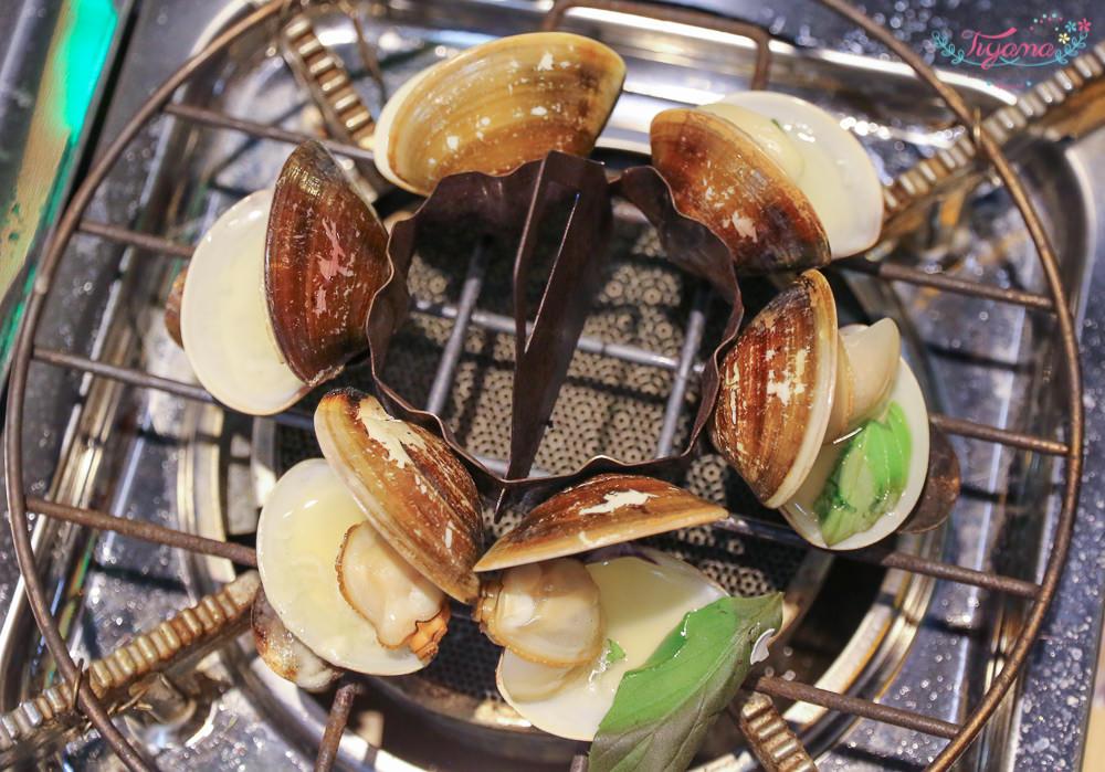 嘉義文化夜市最夯美食~蜊正站好|首創diy炙燒活蛤蜊,現烤現吃~完整保留精華湯汁 @緹雅瑪 美食旅遊趣