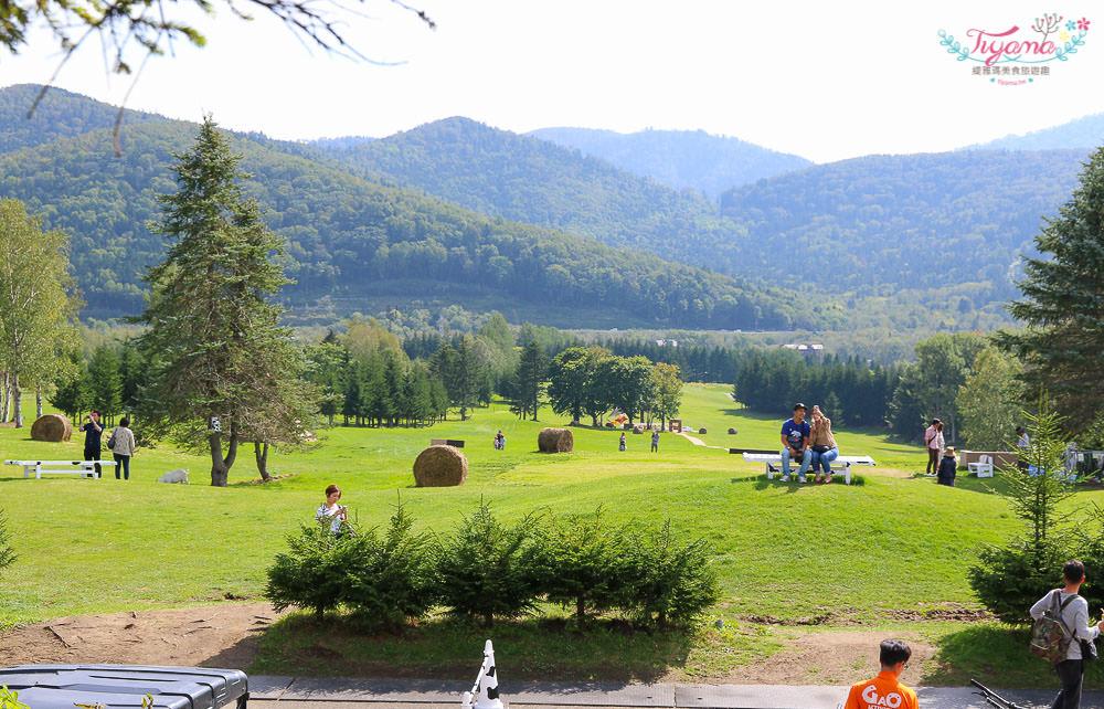 星野Tomamu渡假村 牧場Farm|牧場草床.午睡吊床.餵羊&騎馬體驗.自行車 @緹雅瑪 美食旅遊趣