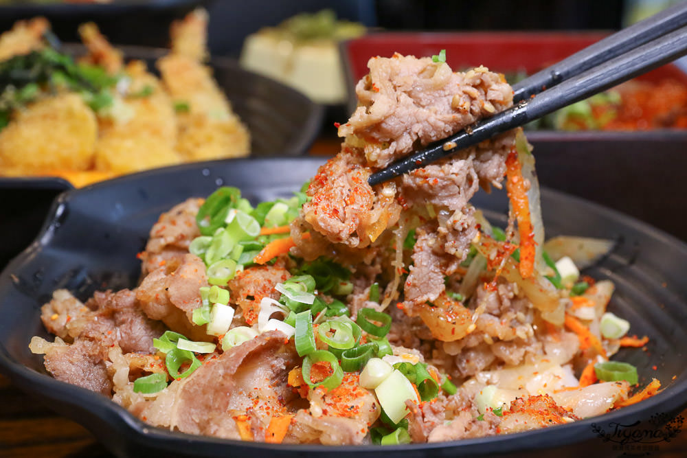 台南丼飯~惠比壽一町,平價美味人氣丼飯.咖哩飯.定食套餐 @緹雅瑪 美食旅遊趣
