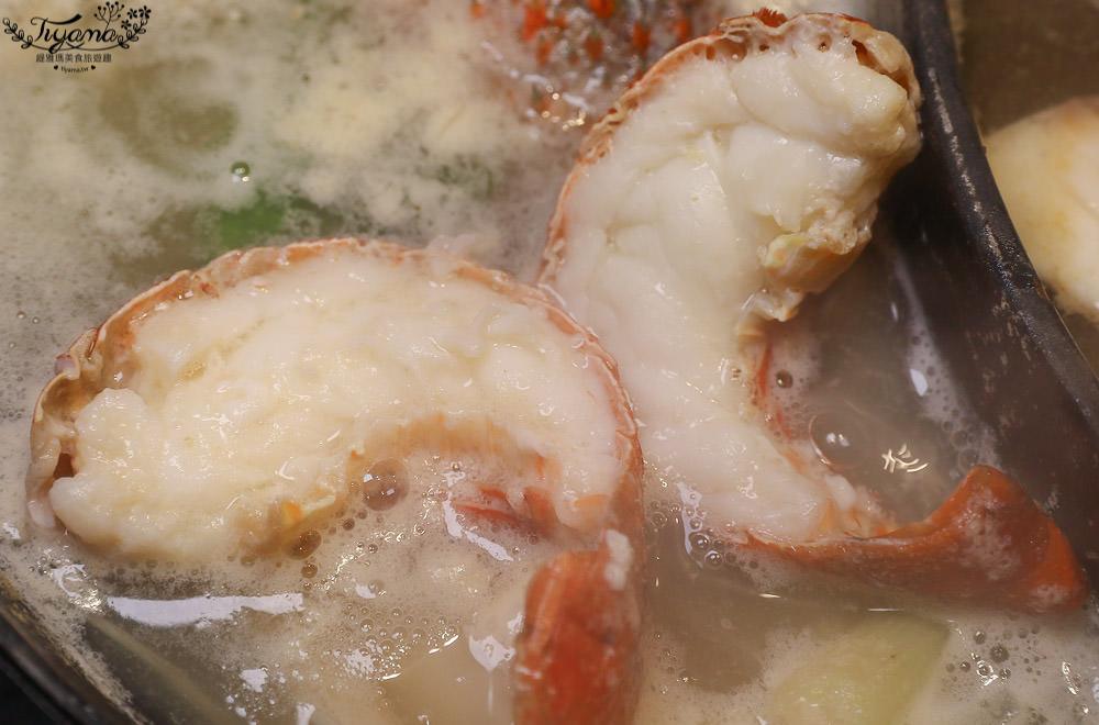 嘉義火鍋新店|燒瓶子。大肆の鍋~超人氣浮誇龍蝦海陸鍋,你吃過了嗎? @緹雅瑪 美食旅遊趣