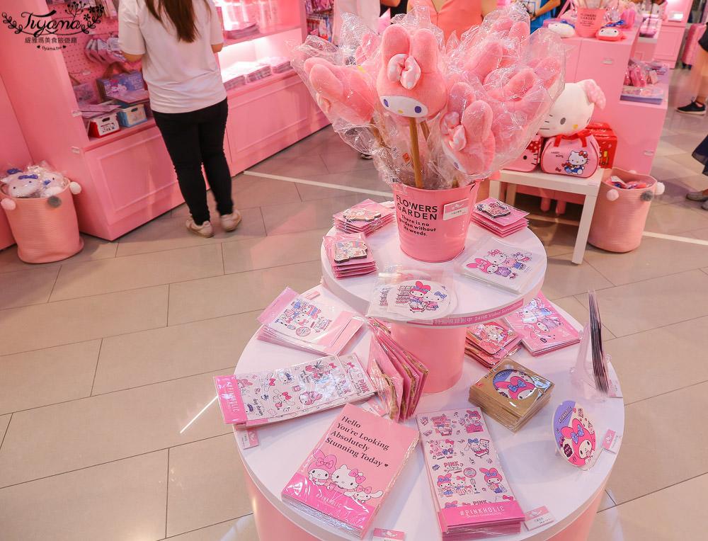 三麗鷗粉紅閨蜜期間限定店 高雄站~免費入場,夢幻粉紅打卡夯點~ @緹雅瑪 美食旅遊趣